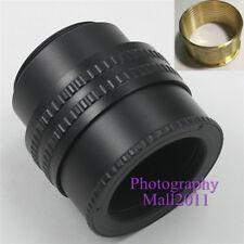 Brass M42 to M42 Mount 25mm-55mm Adjustable Focusing Helicoid Adapter Macro Tube