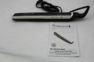 Remington S9500PP Pearl Pro Ceramic Flat Iron, 1-inch, Black EL66