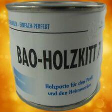 Bao Holzkitt Farbe 716 Mahag dunkel 2x 125Gramm Profi Feinspachtel Restaurierung