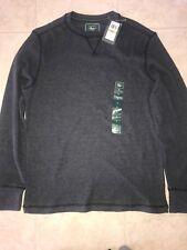 G. H. Bass & Co ~ Thermal Top Shirt Base Layer Long John Charcoal Gray ~ S