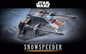 BANDAI Star Wars 1/48 & 1/144 SNOWSPEEDER SET Plastic Model Kit NEW from Japan