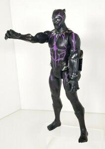 Marvel Avengers Endgame Black Panther Titan Hero Power FX Action Figure 30cm