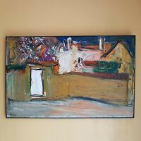 TABLEAU PUTOV RUSSIAN ART 58/91cm  Vezelay  , artprice , artnet , akoun 1990