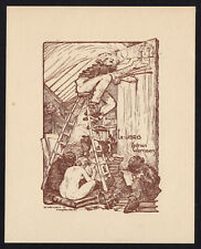 09)Nr.151- EXLIBRIS- Erotik / erotic,Urbain Wernaers, 1928
