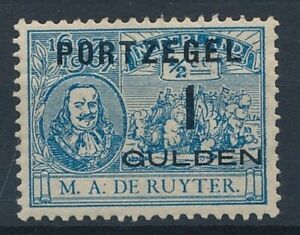 [34910] Netherlands 1907 Good postage due stamp Very Fine MH