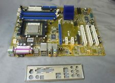 ASUS ABN-e REV 2.00 Socket 939 placa base con AMD ADA3200DAA4BW & Placa de E/S