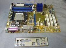 ASUS ABN e REV 2.00 socket 939 carte mère avec AMD ADA3200DAA4BW & i/o plaque