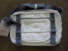 Kipling HB6261 144 PRRLIZDWCO  White  Gracy shoulder bag  NWT $99
