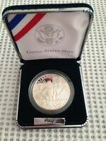 Jamestown 400th Anniversary 2007 Commemorative Proof Silver Dollar