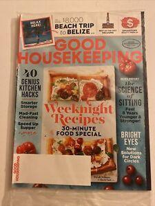 GOOD HOUSEKEEPING MAGAZINE SEPTEMBER 2018 SEALED KITCHEN HACKS SMARTER STORAGE