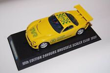 SCALEXTRIC C2316 TVR SPEED 12 JAUNE LIMITED 250PCS 10TH EDITION 24H BRUSSELS BSC