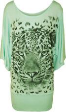 T-shirt, maglie e camicie da donna verde taglia 52