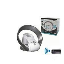 Ventilatore da tavolo senza pale con telecomando 30,5 cm Portatile timer 26 Watt