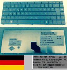 Clavier Qwertz Allemand GATEWAY NV40 NV4005V 9J.N1R82.00G KB.I140G.095 Noir