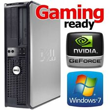 DELL 755 CORE 2 DUO 3.0GHZ WINDOWS 7 WIRELESS HDMI / VGA /DVI VIDEO CARD DESKTOP