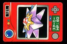 POKEMON JAPANESE BANDAI POCKET MONSTERS POKEDEX N°  121 STARMIE STAROSS
