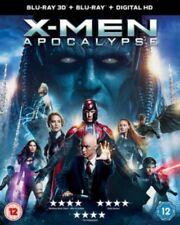 X-Men: Apocalypse 3D & 2D Blu Ray *NEW & SEALED FAST UK DISPATCH*