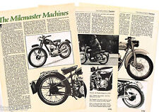 vintage TANDON MOTORCYCLE Article / Photo's / Pictures: VISCOUNT,