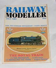 RAILWAY MODELLER VOLUME 32 NUMBER 369 JULY 1981- KINGSBRIDGE