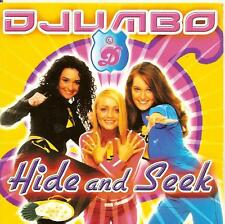 DJUMBO - hide and seek CDS!! BUBBLEGUM eurodance 2004