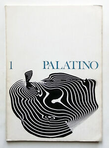 Franco Grignani cover Palatino n. 1/1966