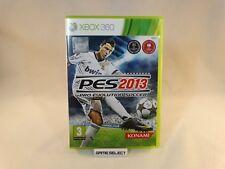 PES 2013 PRO EVOLUTION SOCCER MICROSOFT XBOX 360 PAL ITALIANO ORIGINALE COMPLETO