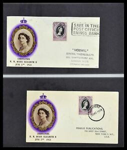 Lot 34394 FDC collection Singapore 1948-2015!