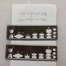 1PCS Gigabyte I/O IO Shield BLENDE backplate GA-Z77P-D3/GA-Z87P-D3 #576 XH