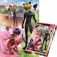Trefl 100 Piece Jigsaw Puzzle For Kids Adventures Of Ladybug And Cat Noir