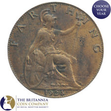 1911 to 1936 KING GEORGE V BRITANNIA FARTHING - CHOOSE YOUR YEAR!