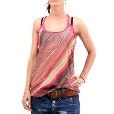 Camisas y tops de mujer de color principal multicolor talla S sin mangas