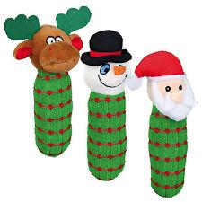 Trixie Plush Squeaky Christmas Dog Puppy Toy Snowman TX92439Snowman