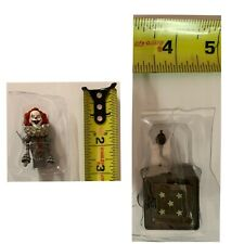 """PENNYWISE JACK IN THE BOX Neca STEPHEN KING (2017 IT ) 2019 Loose 3"""" Figure"""