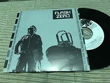 "FLASH ZERO - TRANS-MISSION radio mix 7"" SINGLE PROMOCIONAL 1 CARA SYNTH POP"