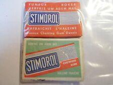 Etiquette allumette - CHEWING GUM STIMOROL - Belgium - (32)