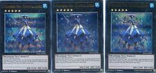YUGIOH CARD - 3 X NUMBER 94: CRYSTALZERO - DUELIST SAGA   DUSA-EN006
