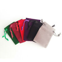 25pcs Velvet Cloth Jewelry Drawstring Pouches Xmas Gift Bags Pouch Wedding Favor
