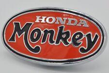 """NOS Genuine Honda Tank Oval """"MONKEY"""" Badge Z50A (87121-045-690)"""