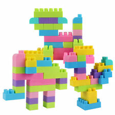 144pcs Colorful Plastic Building Blocks Children Puzzle Educational Toy Gift LY