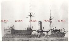 "Photograph Royal Navy. HMS ""Edinburgh"" Ironclad Battleship. Guardship. Rare 1902"