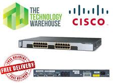 CISCO CATALYST 3750G - 24 puertos Switch Gigabit-WS-C3750G-24T-E