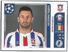 PANINI UEFA CHAMPIONS LEAGUE 2011-12- #205-OTELUL GALATI-GABRIEL PARASCHIV