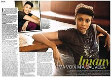 Coupure de presse Clipping 2011 (2 pages) Imany