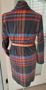 Woolrich Coat Adjusable Leather Belt & Gold Clasp - Womens M - NEW With Tags!!!
