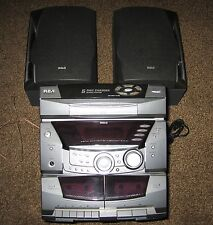 RS-2501 RCA  Surround Sound Stereo/Audio Sys w/Sps-2 Cassette-(5 CD Not Working)