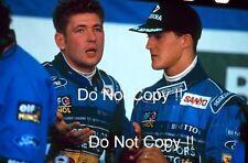 Michael Schumacher & Jos Verstappen Benetton F1 Portrait 1994 Photograph