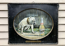 Rare 1903 Abc Bohemian Beer Pre Prohibition Tin Lithographed Sign, Original