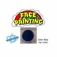 Blue Face paints body painting stage make-up - fancy dress party accessory
