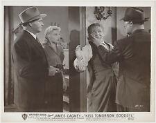 James Cagney + Barbara Payton ++ 1950 STILL PHOTO Kiss Tomorrow Goodbye 371-34