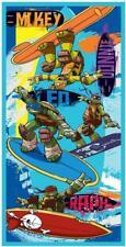 Teenage Mutant Ninja Turtles 'Surf' Boys Kids Beach Bath Holiday Towel NT09001